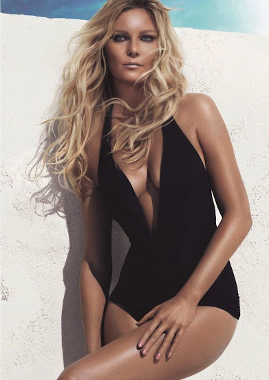 Kirsten Dunst no anúncio do Beach Waves da L'oreal