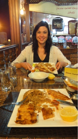 Jordanian Food on What's Katie Doing? blog