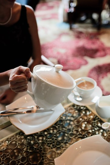 High Tea Las Vegas at the Mandarin Oriental Tea Lounge.