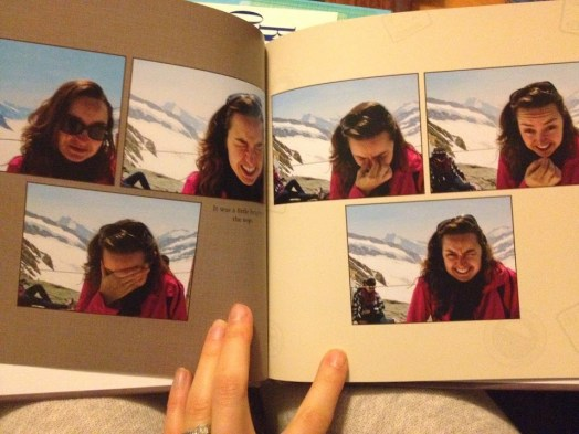 Shutterfly vacation book