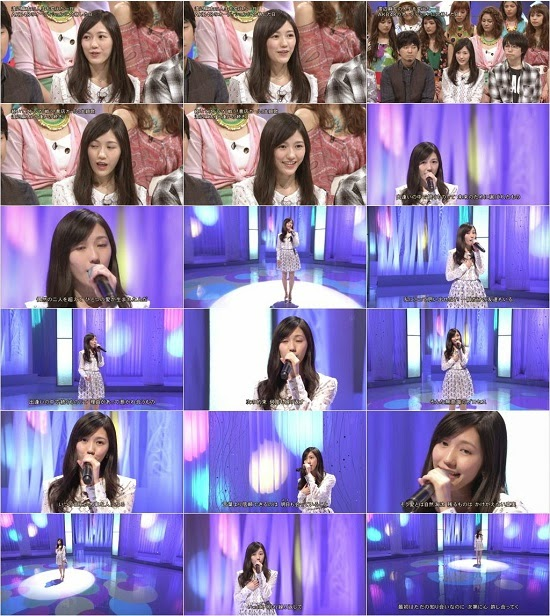 (TV-Music)(1080i) 渡辺麻友 Part – Music Fair 150523