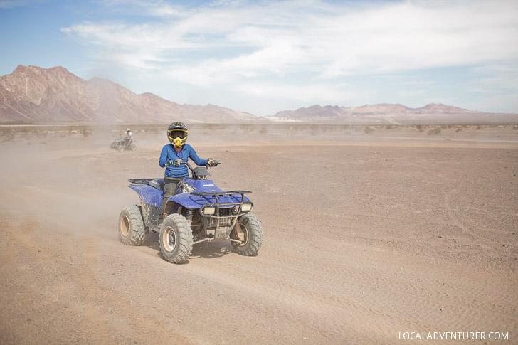 ATV Rides //  What to Do in Las Vegas Today.