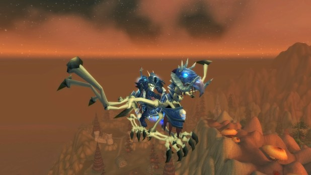 World of Warcraft Winged Steed of the Ebon Blade