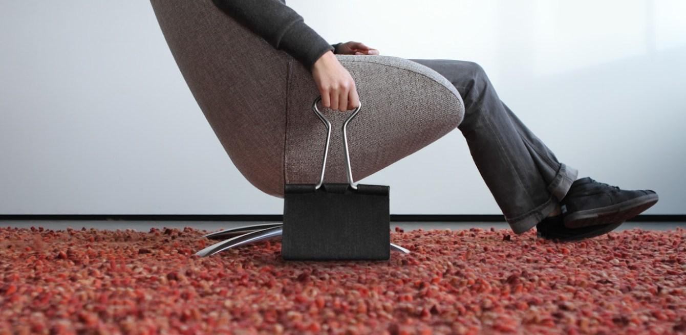 # Clip Bag長尾夾手提包:辦公文具與你形影不離! 6