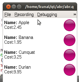 Qt ,Maemo and some other stuff: Creating custom ListView ...