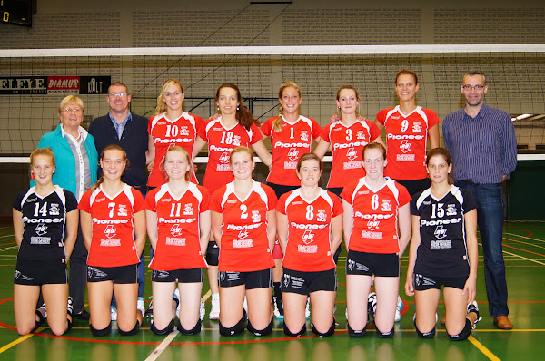 Volleybalteam Bevo Roeselare dames