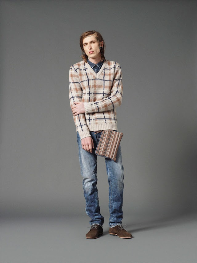 *Mauro Grifoni 和她的男人M.Grifoni Denim :Fall/Winter 2012-13 7