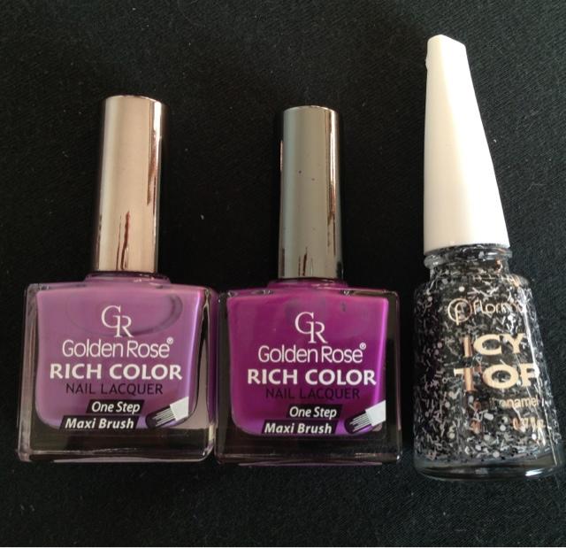 Golden Rose Nail Art 107 Ideas