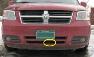 Replace Ambient Air Sensor myself? P0073  Chrysler Forum  Chrysler Enthusiast Forums