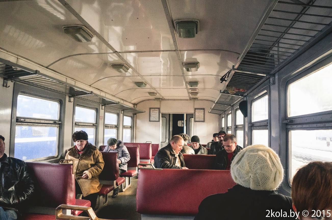 вагон поезда Львов- Ковель