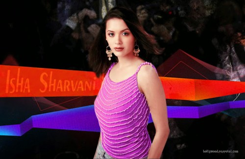 Isha Sharvani Photos