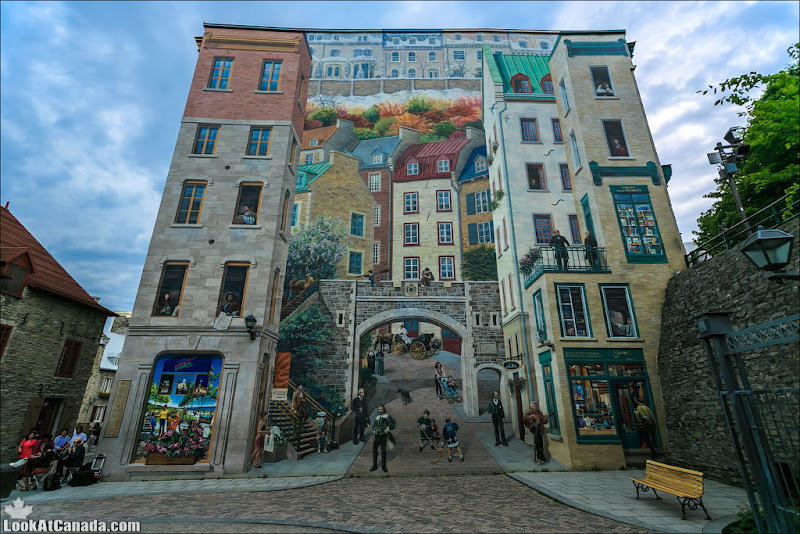 LookAtCanada.com / Квебекская фреска