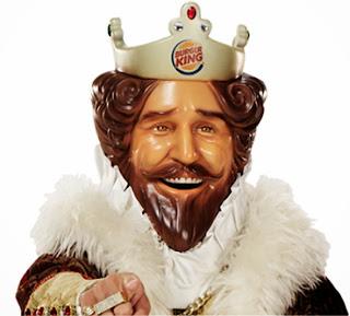 Burger King Promotional Burgers 2014