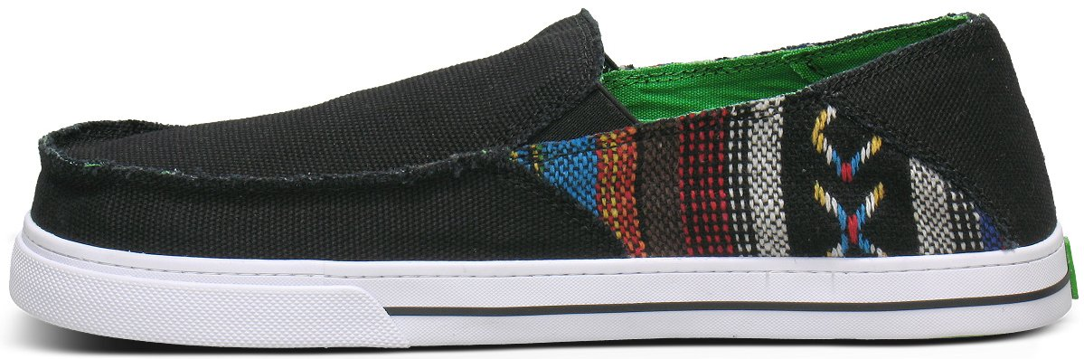*Sanuk:窄版BAJA圖騰拼接帆布鞋! 4