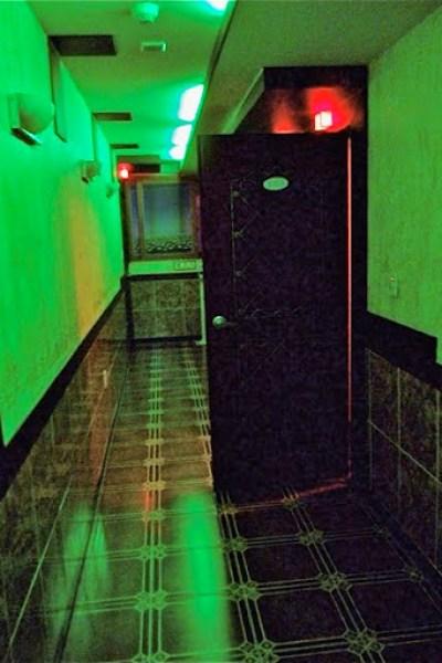 Hallway of a Gunsan Korean Love Motel
