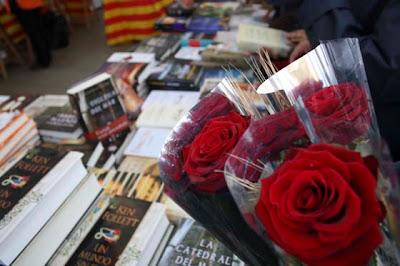 Llibres i roses, elements imprescindible daquesta Diada.