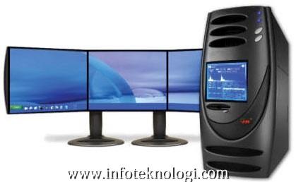 PC dengan kecepatan 5 GHz dan 5 monitor - Infoteknologi.com