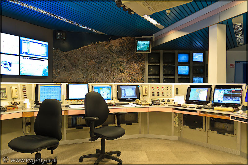 Дома изнутри: Центр управления светофорами Тель Авива