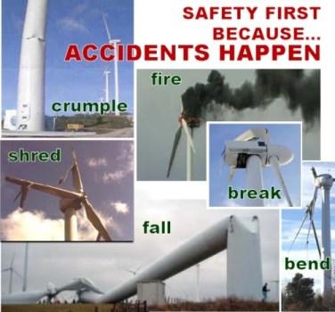 Fallos típicos de los aerogeneradores / generadores eólicos