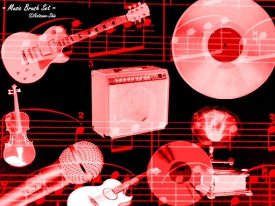 Pincéis música
