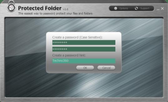 Iobit Protected Folder Interface