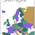25 Elegant Map Of Europe Without Country Names