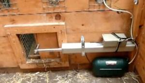 Automatic Chicken Coop Door Opener Plans