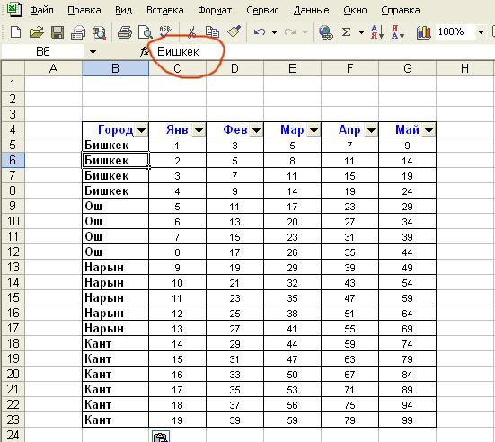 LU overlook: как сделать таблицу в экселе