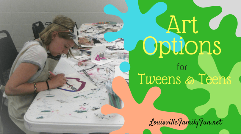 Art Classes Options For Tweens Teens In And Around