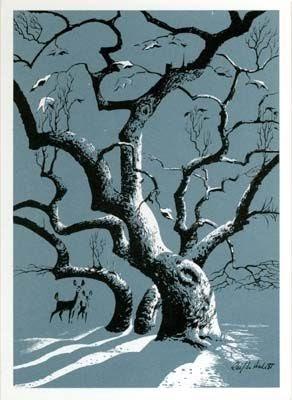 TAG Blog Winter Shadows By Ralph Hulett