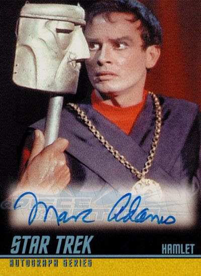 The Classic Star Trek Autograph Reference Center!: Marc ...