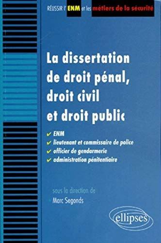 【Télécharger】 La dissertation de droit pénal, droit civil ...