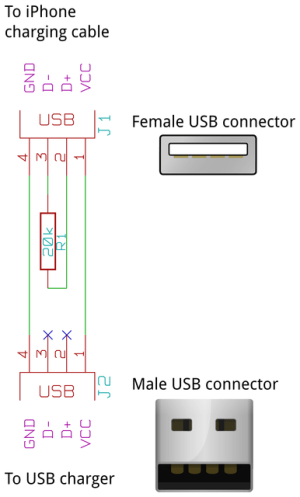 Iphone Usb Cable Diagram  USB Cable Sale