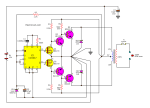 1000w Inverter Circuit With Irf540 | Circuit Diagram Images