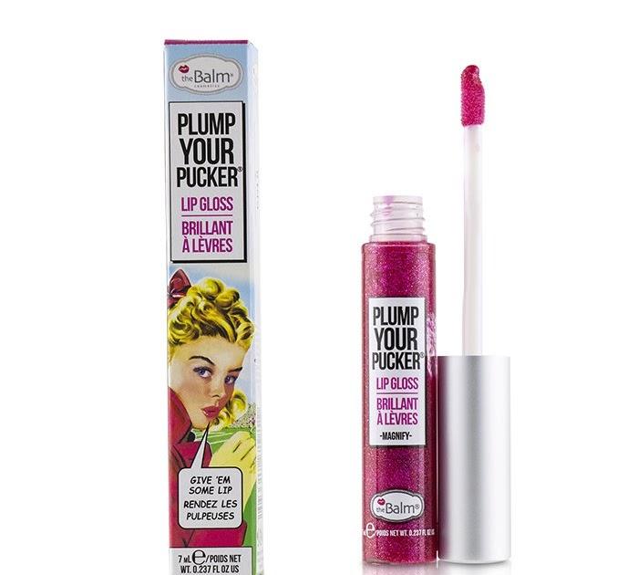【暢銷產品】TheBalm 傾國之吻水感唇蜜Plum Your Pucker Lip Gloss - # Magnify 7ml/0.237oz