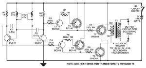 2000w 12v Simple Inverter Circuit Diagram | Circuit