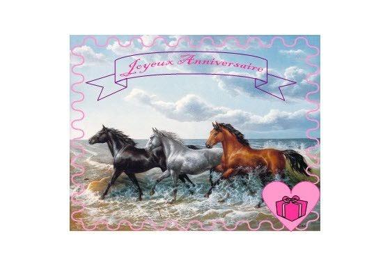 carte anniversaire cheval fille sherril