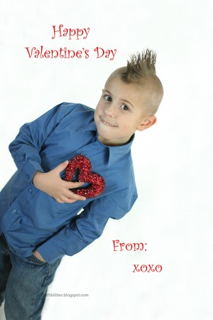 Valentines Day PHOTO IDEAS For BOYSkids Personalized Cards