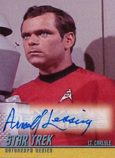 The Classic Star Trek Autograph Reference Center!: Arnold ...