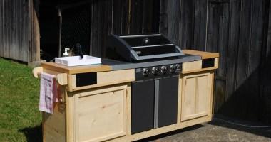Outdoor Kuche Holz Diy
