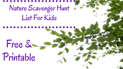 Spring Scavenger Hunt Wallpaper