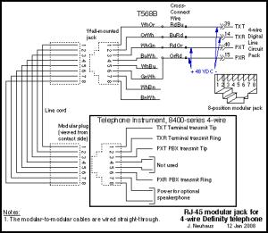 Telephone Wiring | Wiring Circuit Diagram