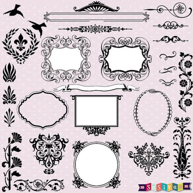 clipart design for wedding card