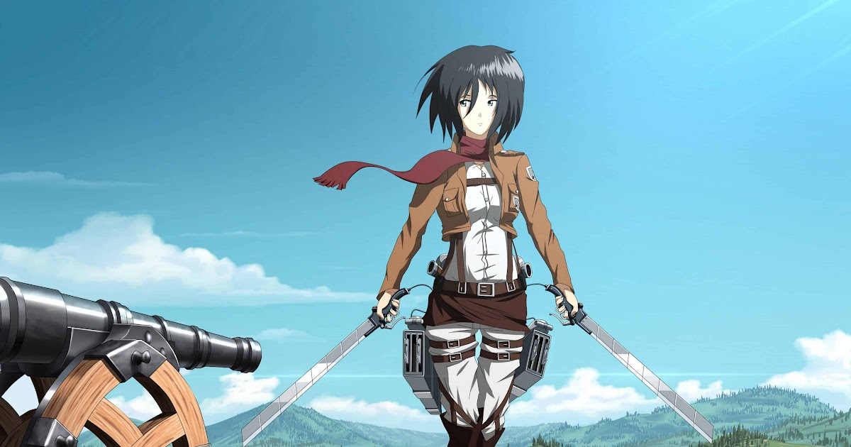The tv adaptation of hajime isayama's critically acclaimed manga series attack on titan is one of the most popular shows among anime fans. Angelanne: Mikasa Levi Mikasa Attack On Titan Wallpaper