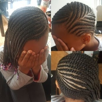 coiffure afro tresses croisa c es cheveux s