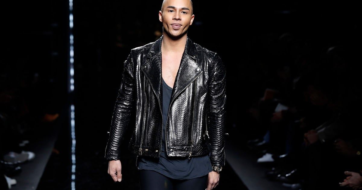 Olivier rousteing is a french fashion designer born in 1986 in france. Olivier Rousteing Balmain / Balmain Designer Olivier ...