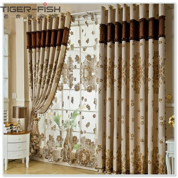 modern curtain designs for living room