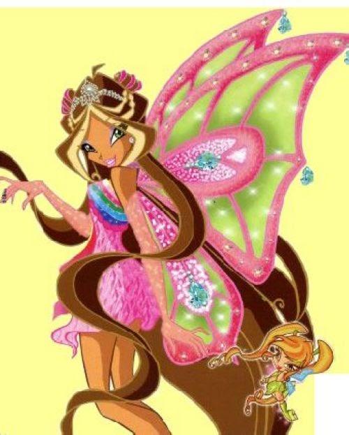milusha: все костюмы флоры винкс