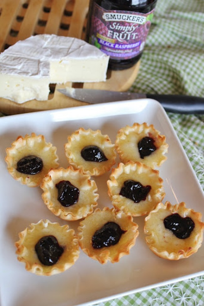 106 (2)Brie Phyllo Cups