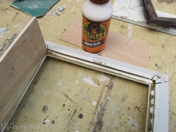 gorilla glue shadow box